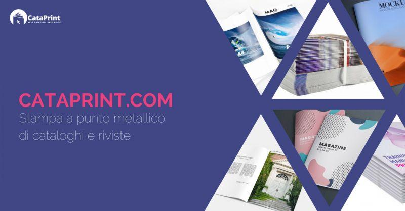CataPrint offerta realizzazione stampa cataloghi aziendali -Occasione servizio stampa cataloghi
