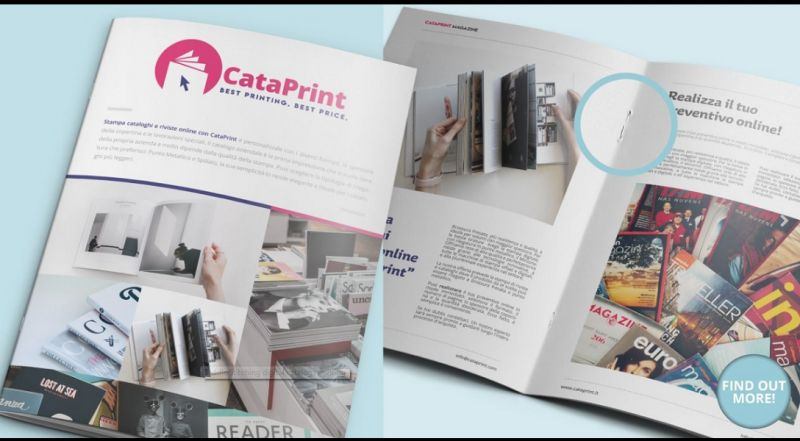 CataPrint  - service offer printing of catalogs and magazines made in italy
