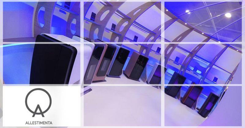 Allestimenta S.r.L. - Azienda specializzata progettazione realizzazione STAND fieristici Italy